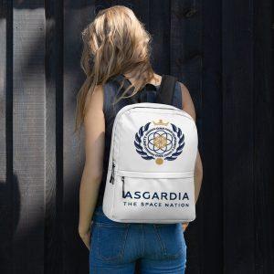 Asgardian Backpack, White