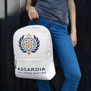 Asgardian Backpack, White