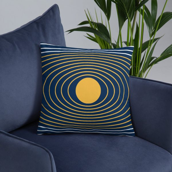 Asgardian Flag Pillow, Smaller Size