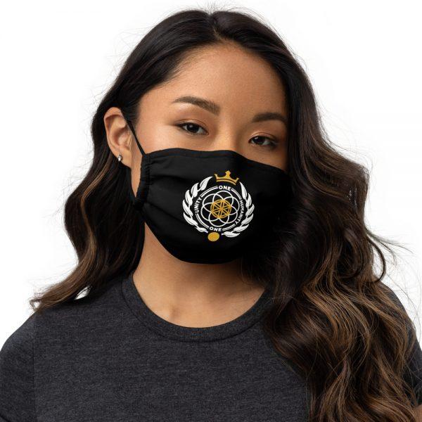Asgardian Premium Face Mask, Black