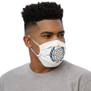Asgardian Premium Face Mask, White