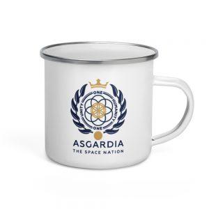 Asgardian Enamel Mug