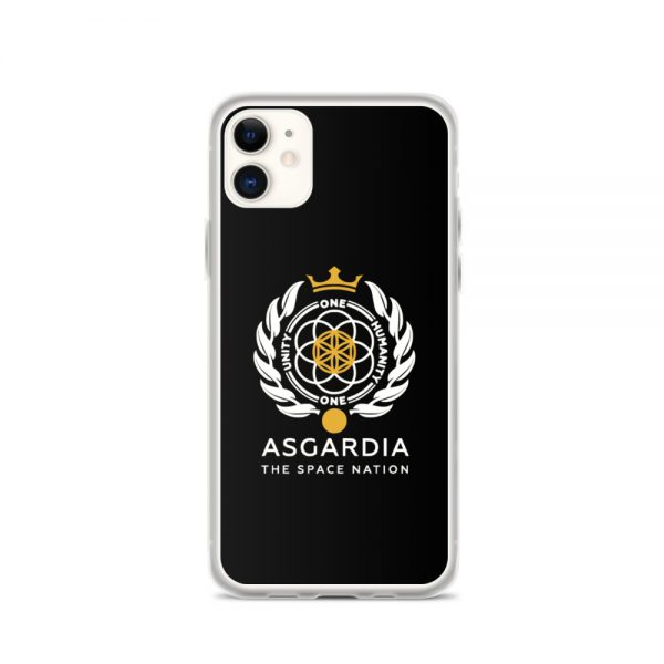 Asgardian iPhone Case, Black