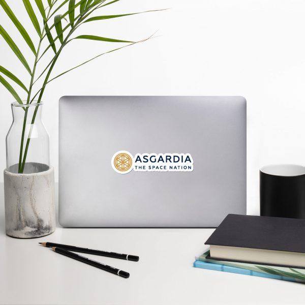 Asgardia Space Nation Sticker, Large