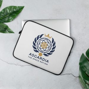 Asgardian Laptop Sleeve, White