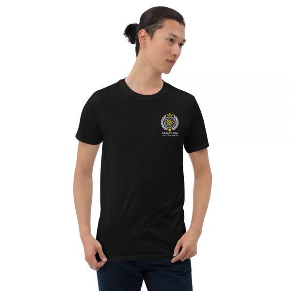 Asgardian Unisex Short Sleeve T-Shirt, Black