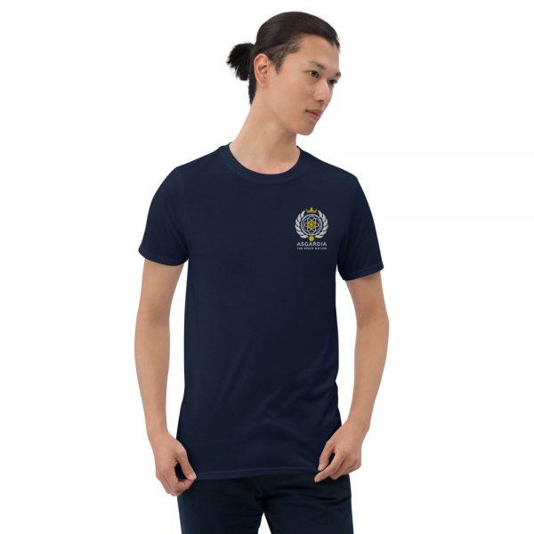 Asgardian Unisex Short Sleeve T-Shirt, Navy-Blue