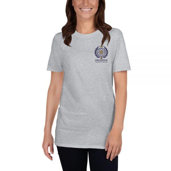 Asgardian Unisex Short Sleeve T-Shirt, Light-Gray