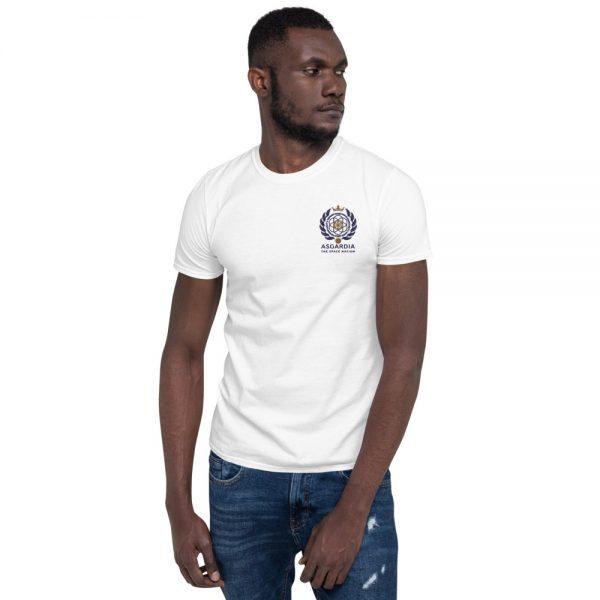 Asgardian Unisex Short Sleeve T-Shirt, White