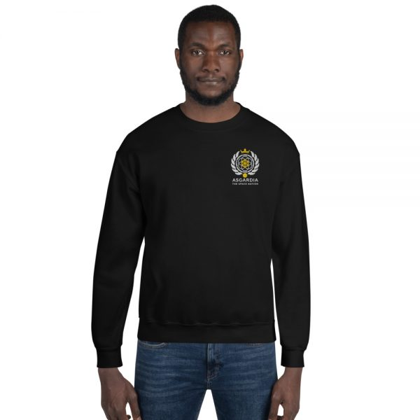 Asgardian Unisex Sweatshirt, Black