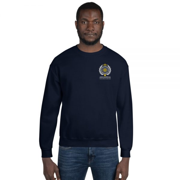 Asgardian Unisex Sweatshirt, Navy Blue