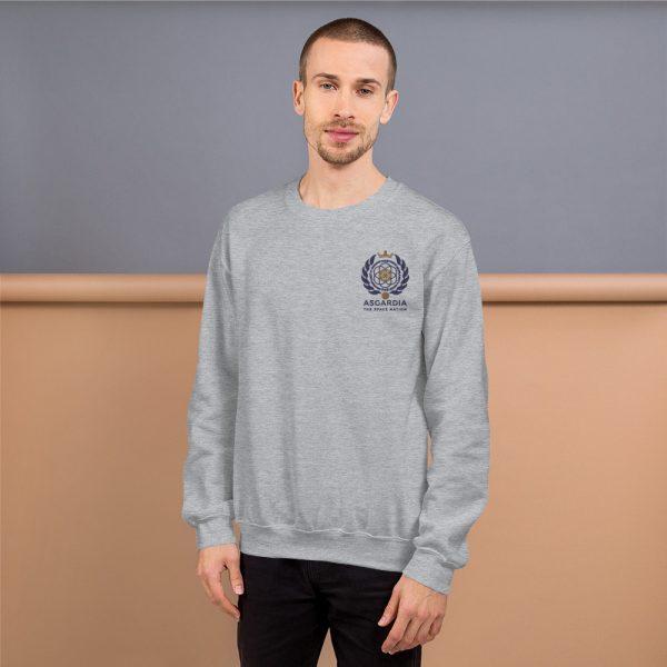 Asgardian Unisex Sweatshirt, Light-Grey