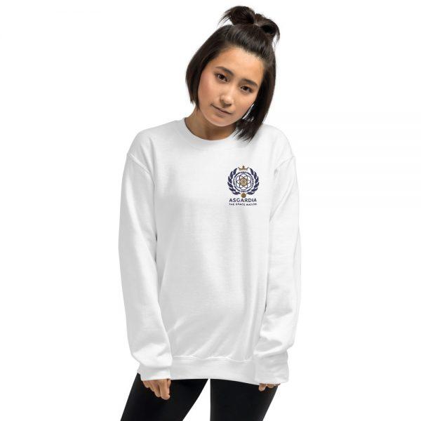 Asgardian Unisex Sweatshirt, White