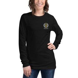 Asgardian Unisex Long Sleeve Shirt, Black