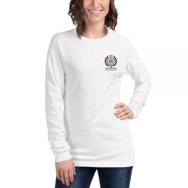 Asgardian Unisex Long Sleeve Shirt, White