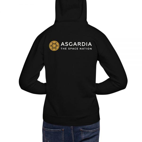 Unisex Asgardian Hoodie, Black
