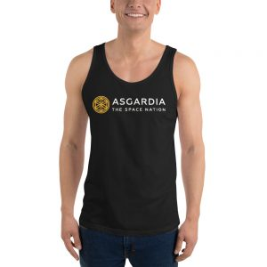 Unisex Asgardian Tank Top, Black
