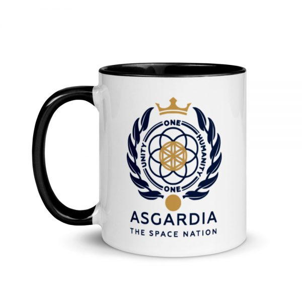 Asgardian Mug, Black Inside And Handle