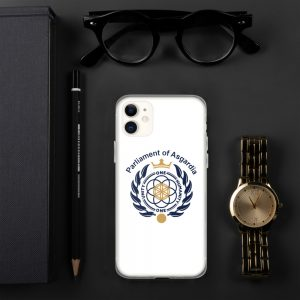 Parliament Of Asgardia iPhone Case