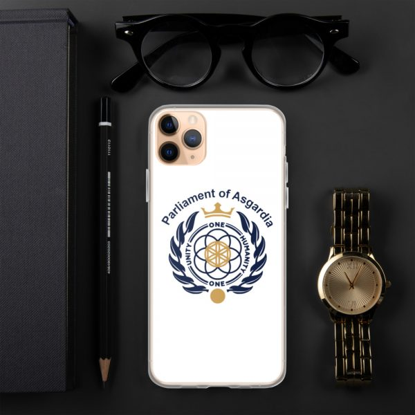 Parliament Of Asgardia iPhone Case